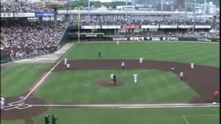 09年04月26日 広島-阪神 ユニコーン始球式 赤星死球