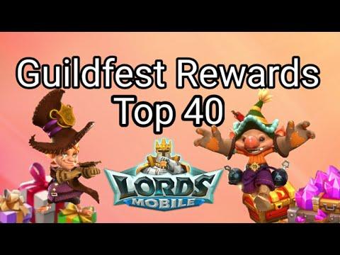 Guildfest Rewards - Lords Mobile