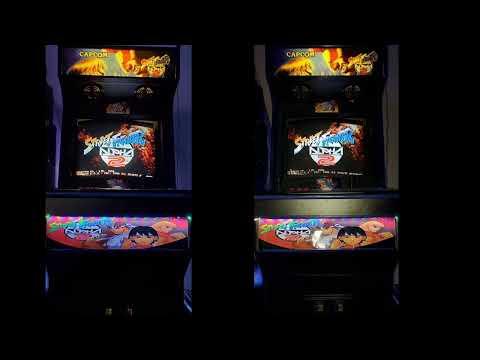 Street Fighter Alpha 2 Arcade Machine Youtube