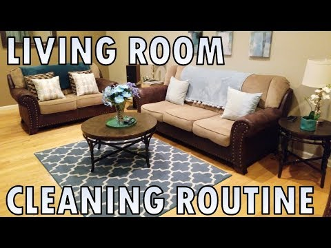 House Cleaning | Living Room Cleaning Routine | Indian Mom | Hindi & English
