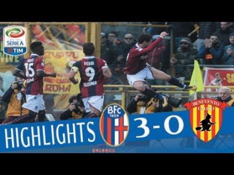 Bologna - Benevento 3-0 - Giornata 21 - Serie A TIM 2017/18