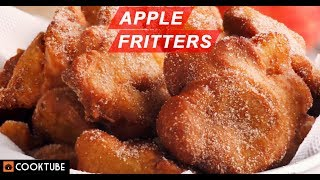 Homemade Apple Fritters Recipe | How to make Apple Fritters | Apple Dessert Recipe
