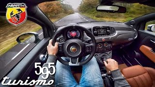 Abarth 595 POV Test Drive Interior & Exhaust Sound