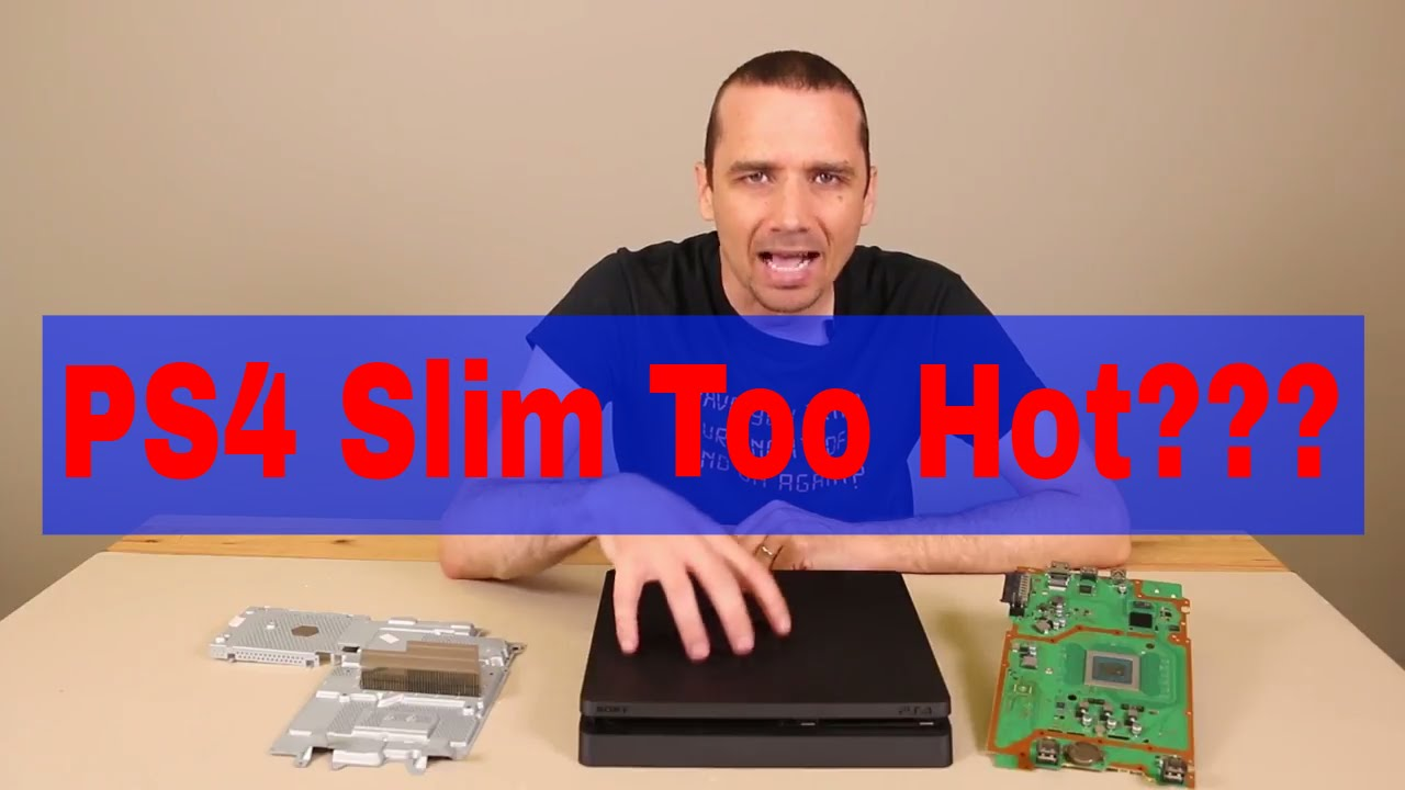 PS4 Slim Repair - We Can Fix Most Any Playstation 4 Problem