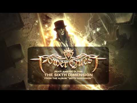 Power Quest - The Sixth Dimension feat. Anette Olzon [OFFICIAL AUDIO]