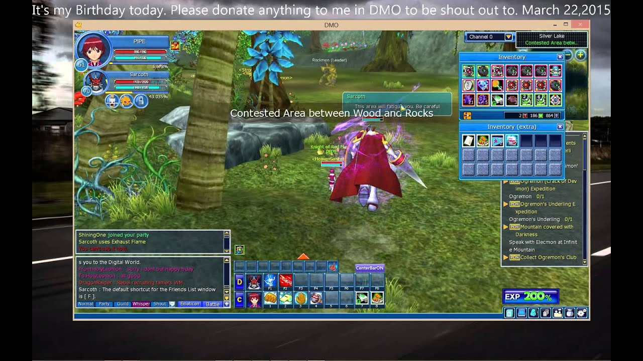 Aeria Games Aeria Games Digimon Masters Online My Birthday Youtube