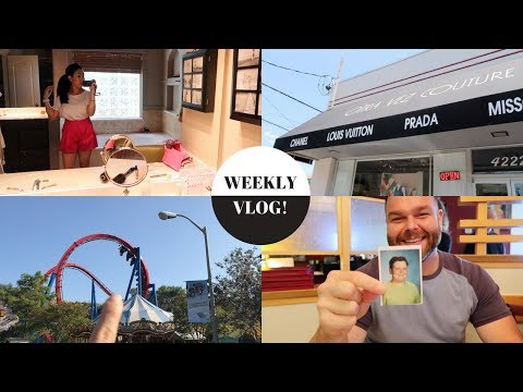 Weekly Vlog 1 | Luxury Consignment Stores, House Shopping in SA, Father's Day!