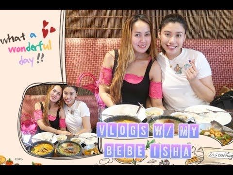 VLOGGER IN SOUTH KOREA/DATE WITH MY BEBE ISHA(PURPLEHEIRESS)+BACK TO SOUTH KOREA/PINKSLOVERS VLOGS
