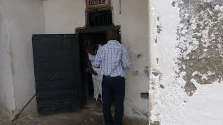 Candles in Condemn Cell at Cape Coast Dungeons - Ghana Tour May 2018