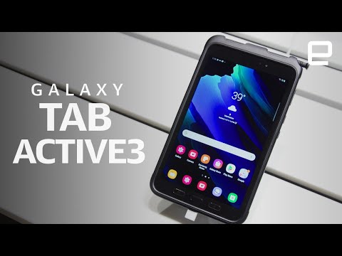 Samsung Galaxy Tab Active3 hands-on: A rugged tablet that can handle extreme environments