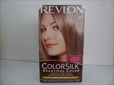 Revlon Colorsilk 60 Dark Ash Blonde Hair Dye Youtube