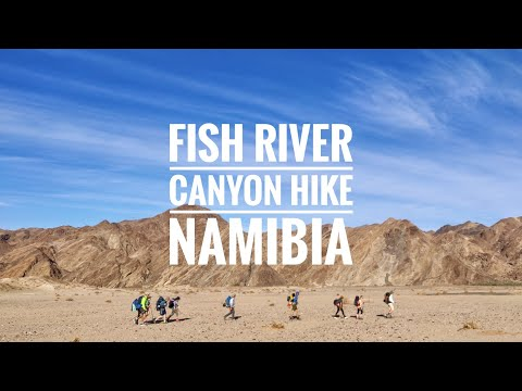 Fish River Canyon Hike Namibia