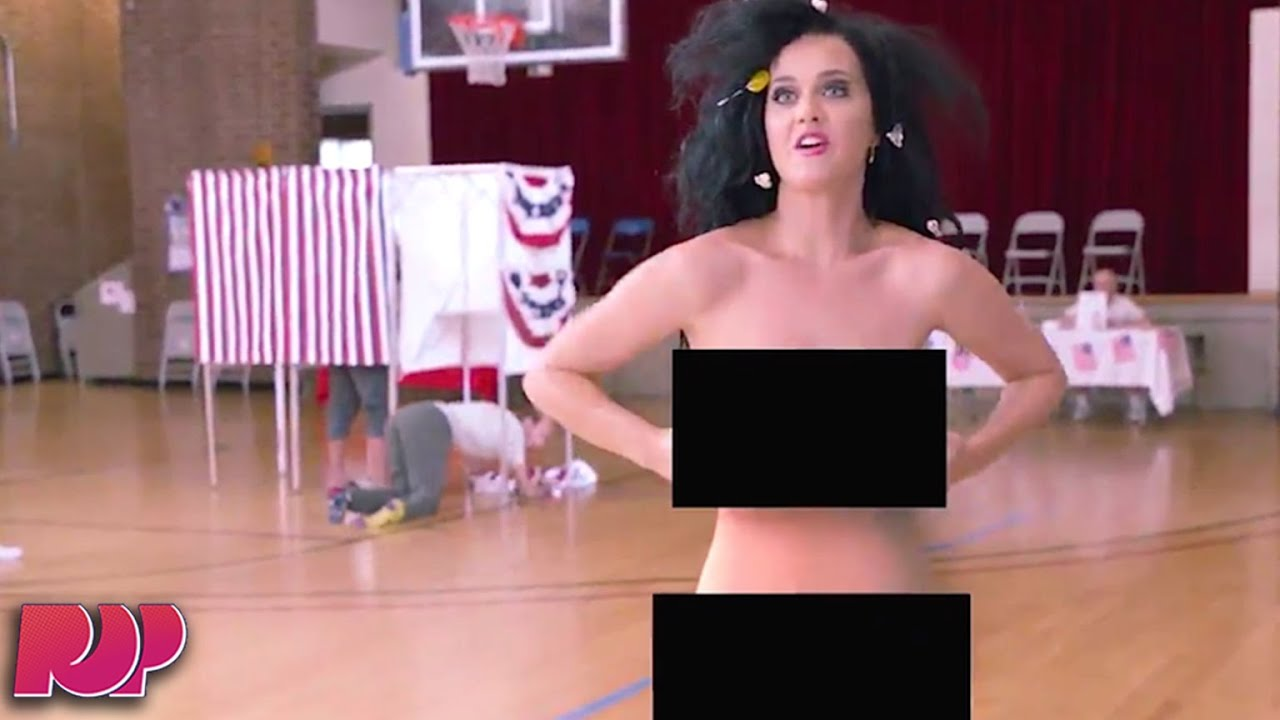Katy Perry Will Get Naked To Vote