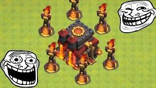 INFERNO TURM! || TROLL ACCOUNT || CLASH OF CLANS || Let's Play CoC [Deutsch/German HD+]