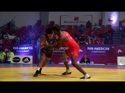 BRONZE GR - 66 kg: Mario MOLINA CORTEZ (PER) df. Jefrin Benito MEJIA SAMBULA (HON) by DQ, 5-5