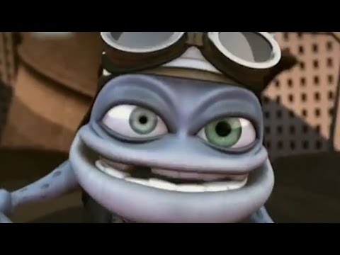 Crazy Frog - Axel F but every time Crazy Frog makes a sound it gets faster