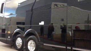 2016 Super Bowl Arrivals at San Jose Airport & Team Buses (Denver Broncos & Carolina Panthers)