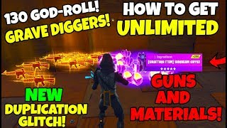How To Get Unlimited Guns & Materials in Fortnite Save The World (Solo Duplication Glitch)
