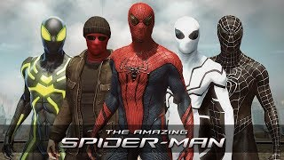 The Amazing Spider-Man | All Suits & Costumes (Gameplay)