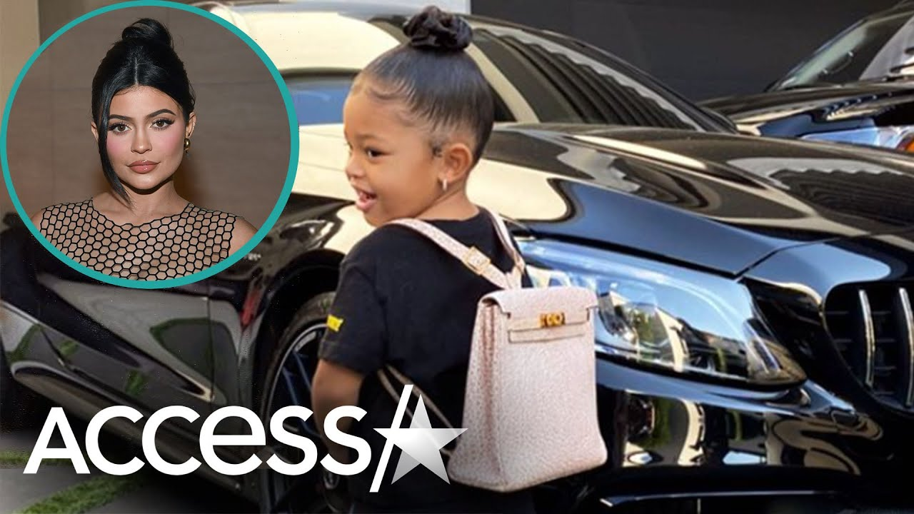 Kylie Jenner's Daughter Wears Over $10K Backpack
