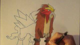 How to Draw Entei