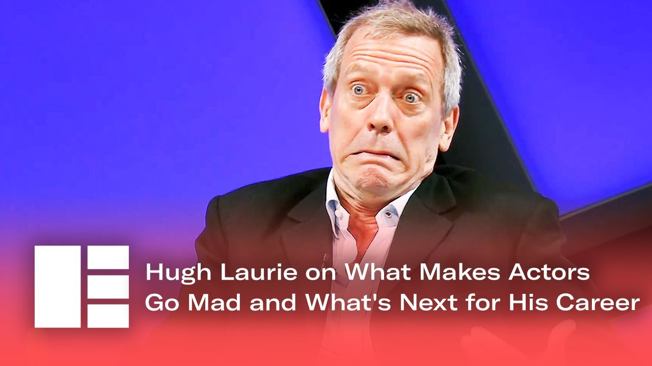 Hugh Laurie on What Makes Actors Go Mad and What's Next for His Career | Edinburgh TV Festival