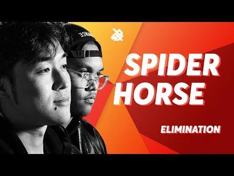 SPIDER HORSE  |  Grand Beatbox TAG TEAM Battle 2018  |  Elimination