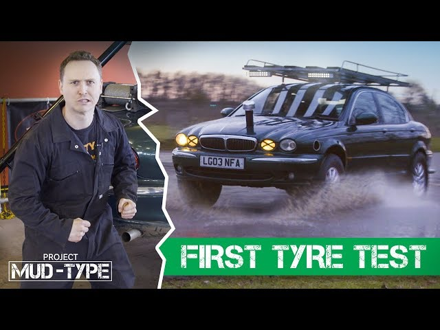 Testing Our Beefy Off-Road Tyres For The First Time
