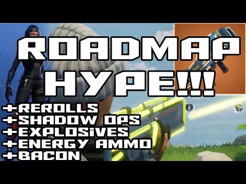 ROADMAP HYPE | Weapon Reroll | Shadow Ops Heroes | Military Weapons | Bacon | Energy