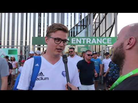 KOTIKISOJEN U19 EM AVAUS! SUOMI-ITALIA 0-1 | Kannattajahaastattelut | Byyri