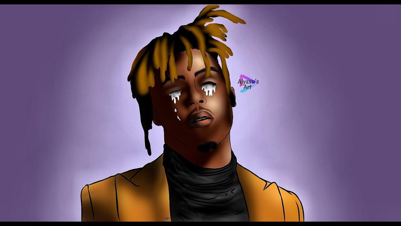 Juice Wrld Cartoon Art 9 9 9 Youtube
