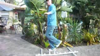 Truck bed fishing rod rack strength (220lbs)