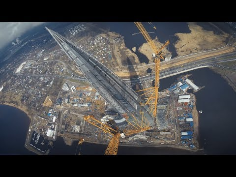 DIVING THE TALLEST BUILDING IN EUROPE :: 462 meters :: Lakhta Center FPV Freestyle