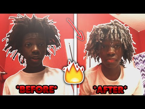HOW TO: Wash / Maintain FreeForm Dreads 🔥 THOT BOY HAIRCUT  [TUTORIAL] GEEMoney Hair Style