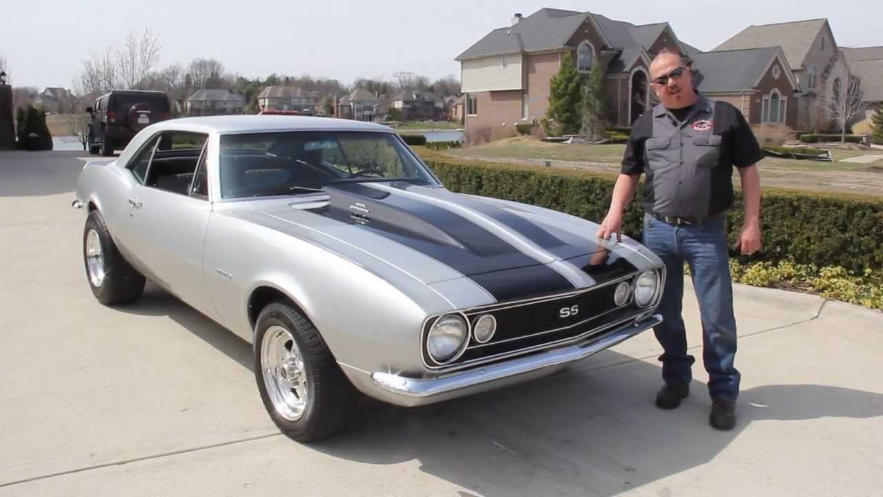 1967 Chevrolet Camaro Classic Muscle Car for Sale in MI Vanguard ...