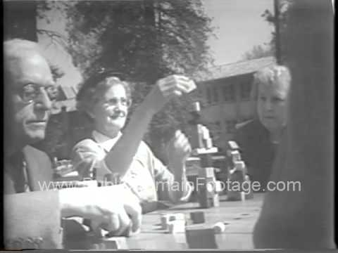 San Jose State Teachers College Block Party 1954 newsreel archival footage