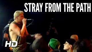 Stray From The Path - Kickback live @ MeetFactory Prague 21.12.2019