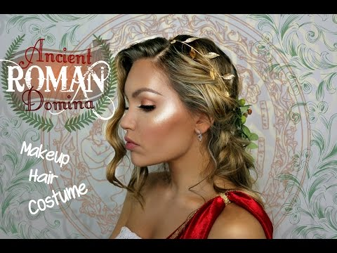 Ancient Roman Domina - Makeup Hair and Costume