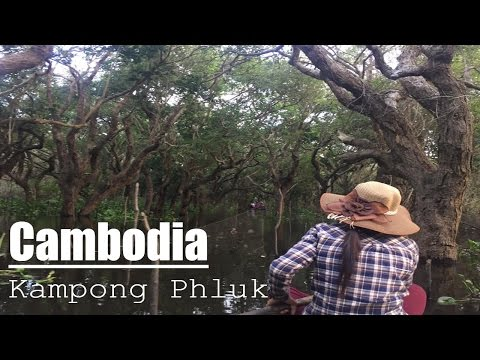 Cambodia Travel Kampong Phluk, - Floating Village, Tonle Sap Lake - Siem Reap, Cambodia - DJI OSMO