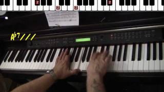 Jordu - standard jazz piano jazz cover Yvan Jacques