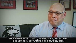 2016 NCAA Diversity and Inclusion Award recipient Northern Illinois University