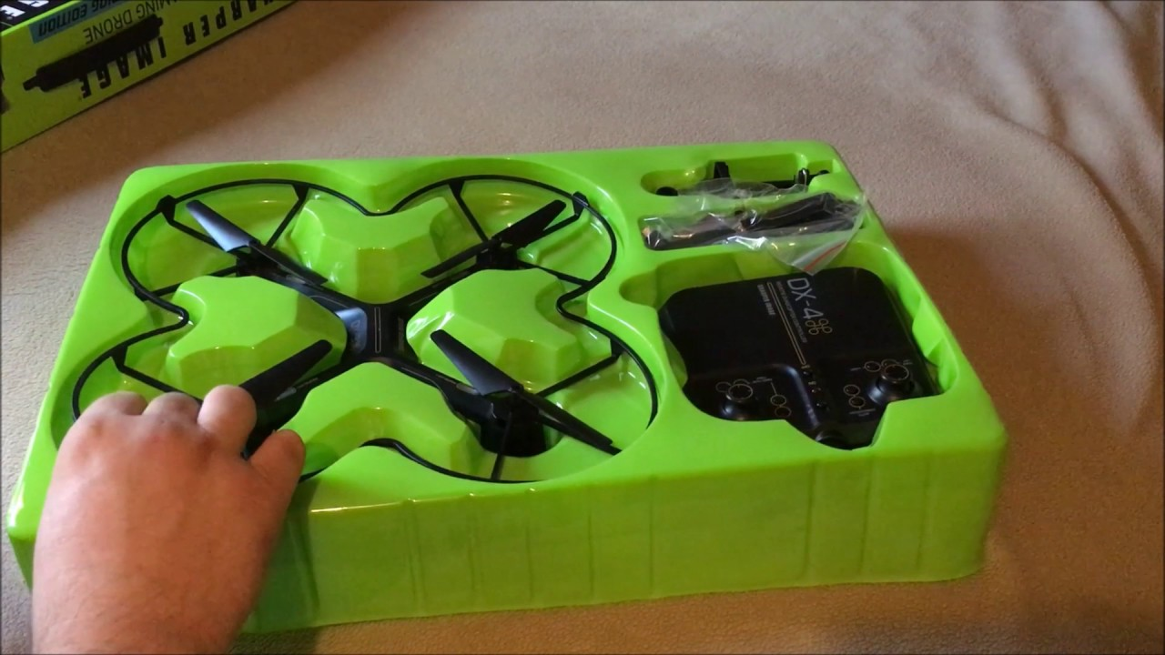 Sharper Image Dx 4 Hd Streaming Drone Unboxing Youtube