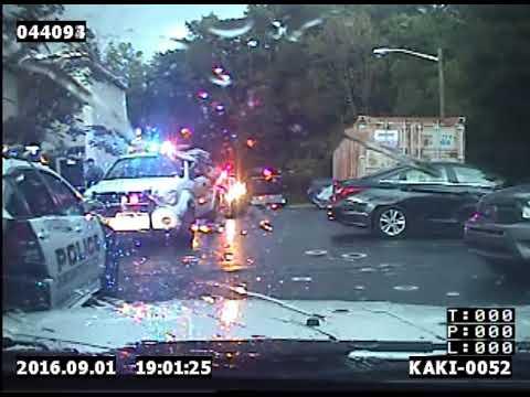Bordentown Township (N.J.) Police Dash cam
