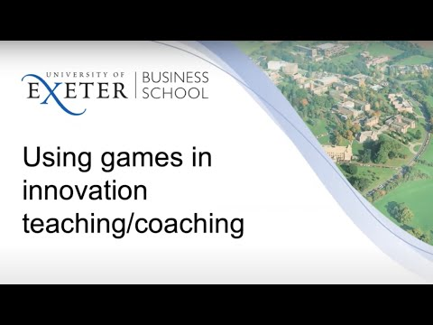WEBINAR: Using Innovation Games for Teaching and Coaching innovation by John Bessant