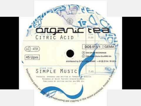 Organic Tea    Citric Acid