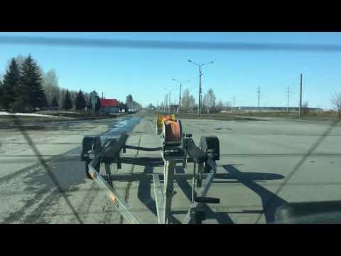 Прицеп трейлер ступино 6м резиножгутовая подвеска