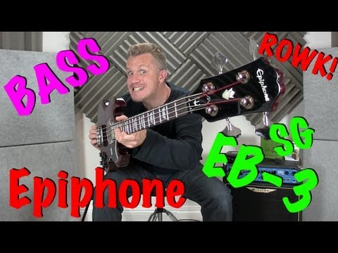 Gibson Epiphone EB-3 SG Bass Review