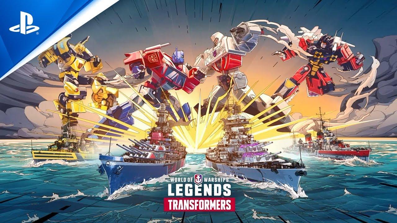 『World of Warships: Legends』  x  『トランスフォーマー』コラボ開催中!