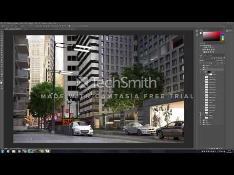 """Final-Art Composition and postproduction of """"chicago"""" work"""