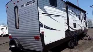 New 32' 2015 Gulf Stream Innsbruck 279qbl 1-slide Bunks Outside Kitchen